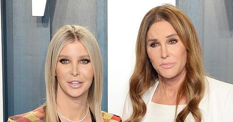 Sophia Hutchins Standing Next To Caitlyn Jenner