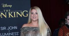 Meghan Trainor at the Lion King premier