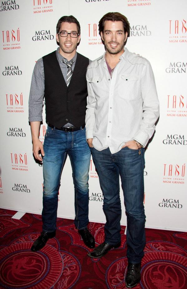 Drew and Jonathan Scott, the Property Brothers