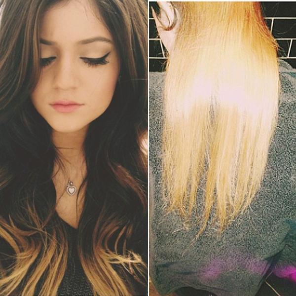 Kylie Jenner New Hair