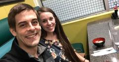Derick Dillard Jill Duggar date night same table