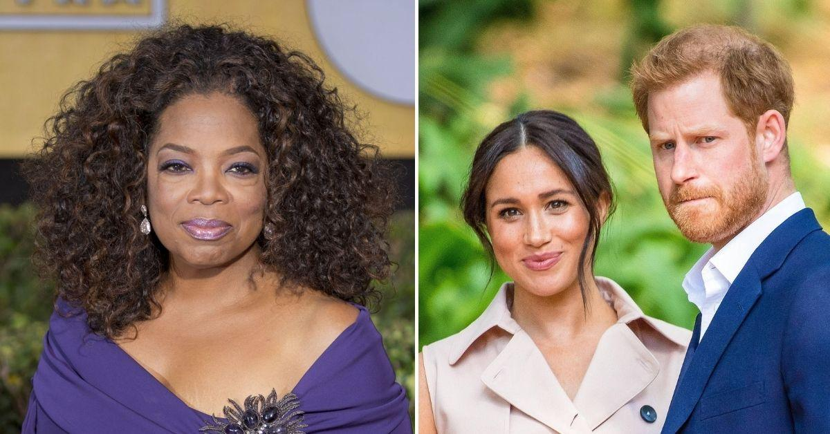 oprah winfrey surprised meghan markle prince harry all the way there racism interview