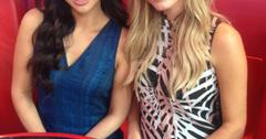 Dorothy Wang and Morgan Stewart of E!'s #RichKids of Beverly Hills