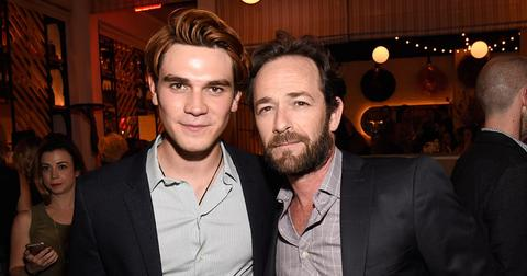 KJ Apa & Luke Perry