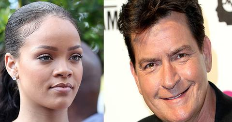 Rihanna charlie sheen fued feature