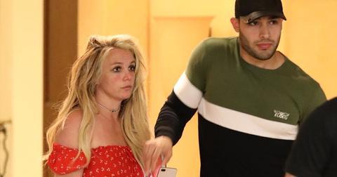 Britney Spears Sam Wellness Visit PP