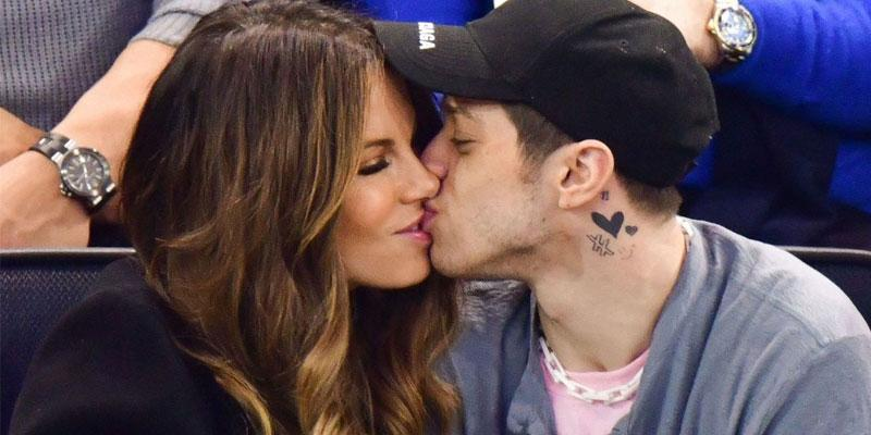Kate Beckinsale Pete Davidson kiss
