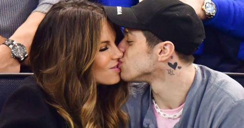 Kate Beckinsale Pete Davidson kiss