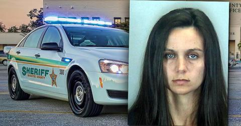 Mugshot of Ashley Benefield Charged with Murder of Husband Doug Benefield
