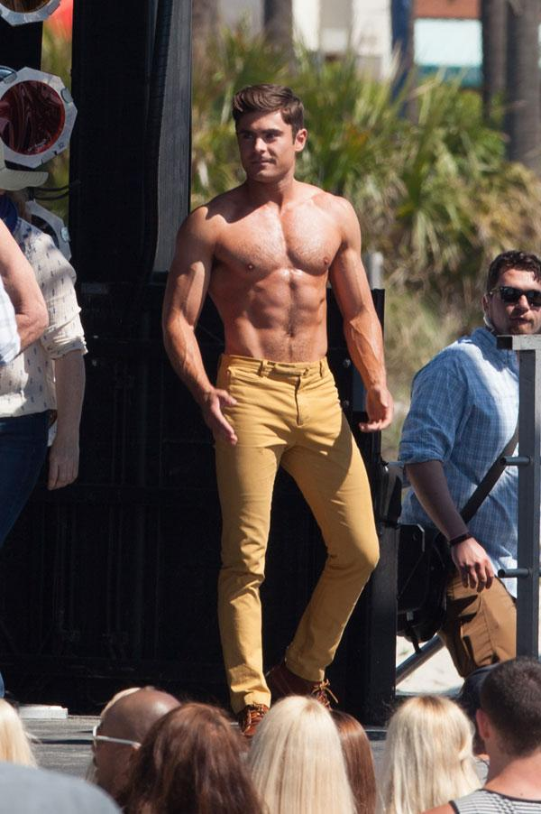 Here Are 2 Chances to See Zac Efron Shirtless in Dirty
