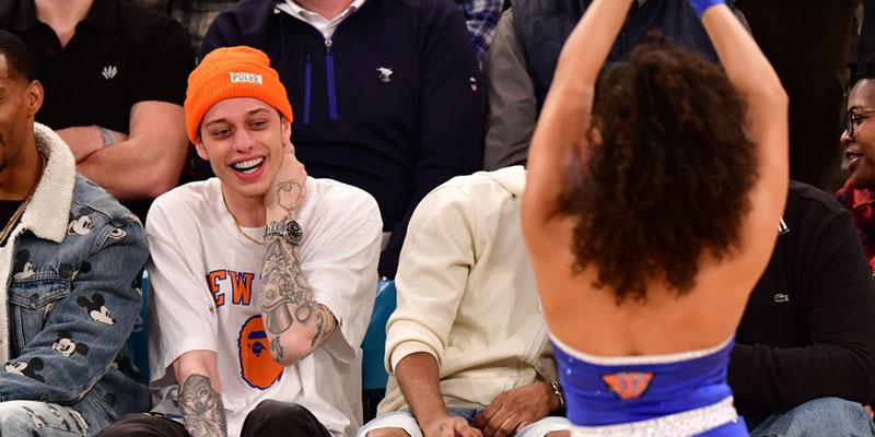 Pete Davidson Cheerleaders PP