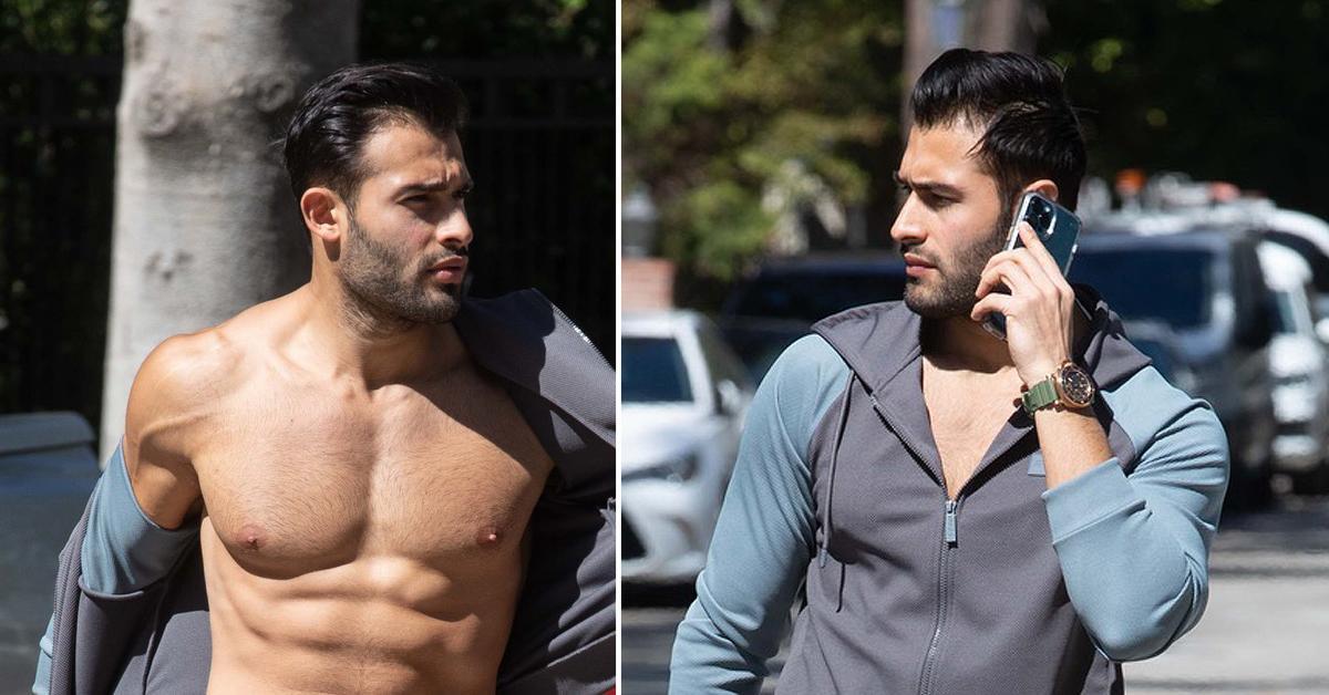 britney spears boyfriend sam asghari workout naked photos pf