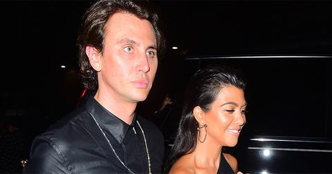 Kourtney Kardashian Hits the Town for Night of Partying with Jonathan Cheban
