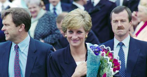 Princess Diana in Plaistow 1990