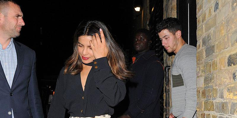 Priyanka chopra nick jonas date night london main