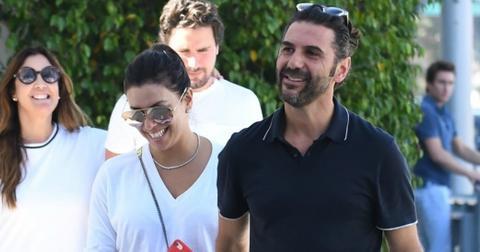 Eva Longoria Husband Hides Stomach Pregnancy Rumors Pics Long
