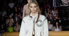 Kendall Jenner Blonde Burberry Show London Fashion Week