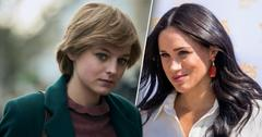 'The Crown' Fans Compare Diana And Meghan Markle's Royal Treatment