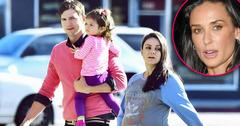Ashton kutcher divorce demi moore baby with mila kunis h