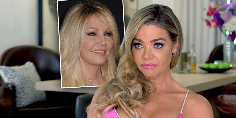 'RHBOH' Finale: Are Denise Richards & Heather Locklear Feuding?