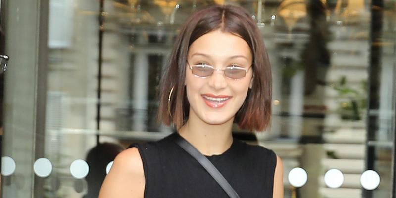 Bella hadid paris hotel fashion week