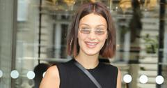 Bella hadid paris hotel fashion week