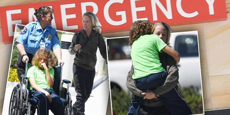 Kendra wilkinson hank baskett rush son to emergency room