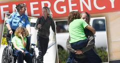 Kendra wilkinson hank baskett rush son to emergency room