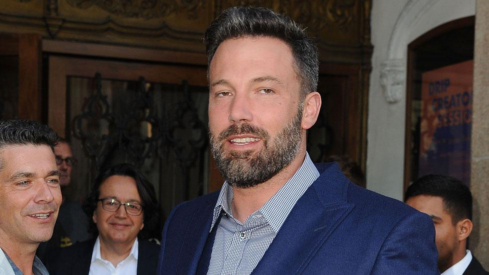 Ben affleck dating mystery blonde
