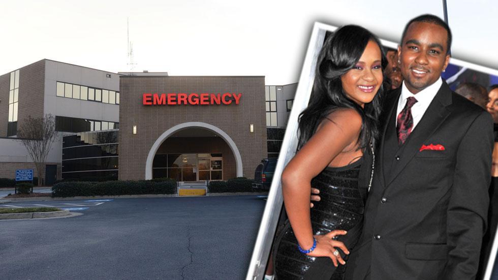 Bobbi kristina hospital splash