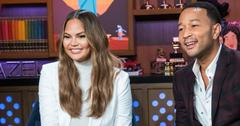 Chrissy Teigen and John Legend on Watch What Happens Live