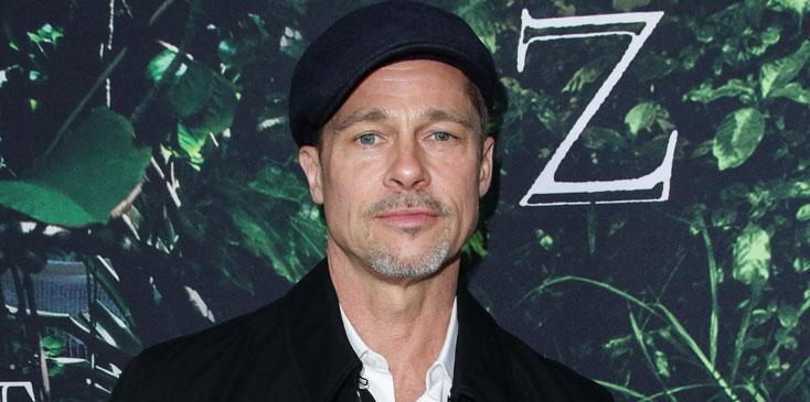 Brad Pitt GQ Interview Booze Therapy Divorce Long