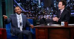 Anthony Mackie and Jimmy Fallon
