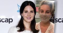 Lana Del Rey Claps Back At Haters Over Mesh Face Mask Controversy