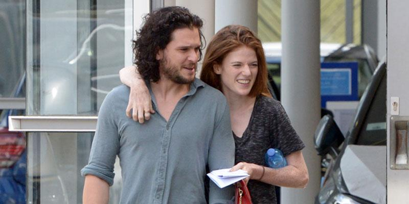 rose leslie kit harington together after wedding pics pp