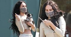 Rumer Willis Spotted With New Puppy On Monday