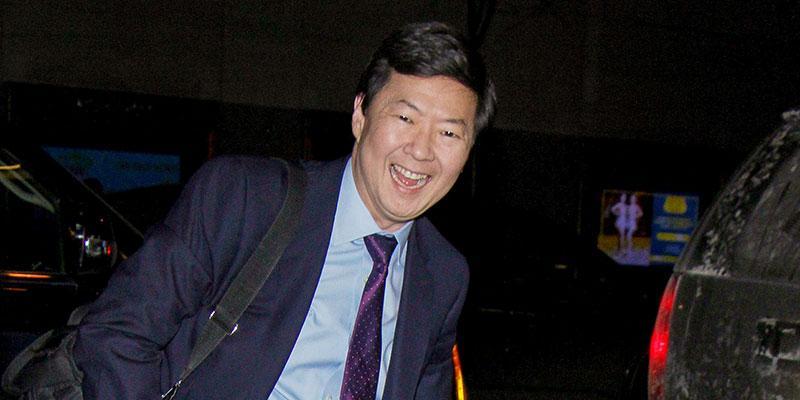 Ken jeong helps woman seizure main