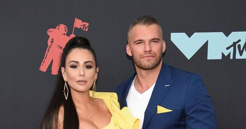 Jenni 'JWoww' Farley And Zack Carpinello On Red Carpet
