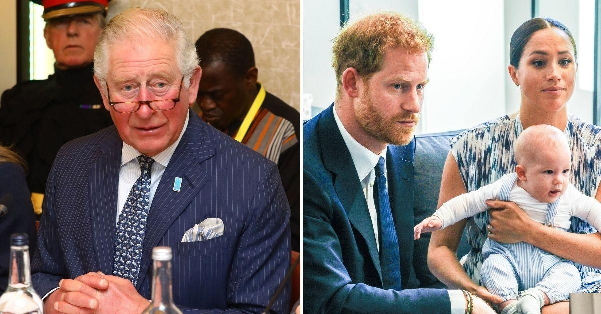 prince charles will not allow archie prince king prince harry meghan markle