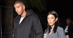 Kourtney kardashian and younes bendjima take a trip to six flags