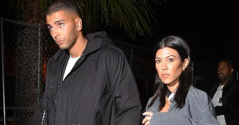 Kourtney kardashian and younes bendjima take a trip to six flags