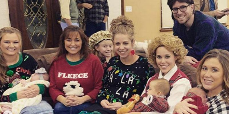 //Duggar Ugly Sweater Party PP