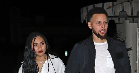 Ayesha & Steph Curry Enjoy A Romantic Date Night In LA