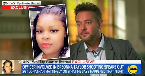 Sgt. Jonathan Mattingly Cop Involved In Breonna Taylor Case Says 'She Didn't Deserve To Die'