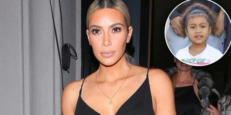 North west shoots topless photos of mom kim kardashian