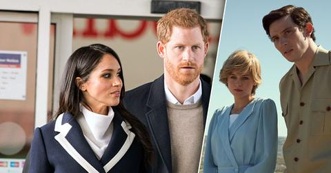 Why Hasn't Prince Harry Or Meghan Markle Commented On 'The Crown'?