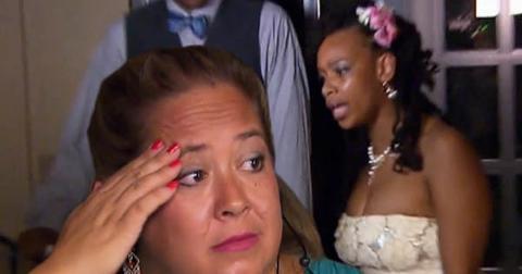 Wedding island video sisters fight 1