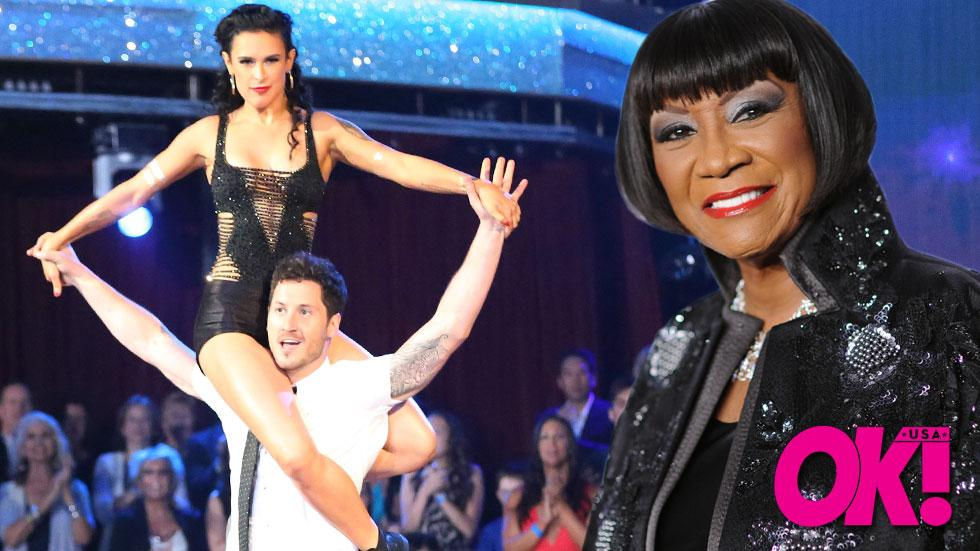 Patti labelle wants rumor willis to win dwts