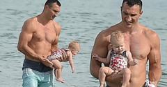 Hayden panettiere baby wladimir klitschko husband shirtless
