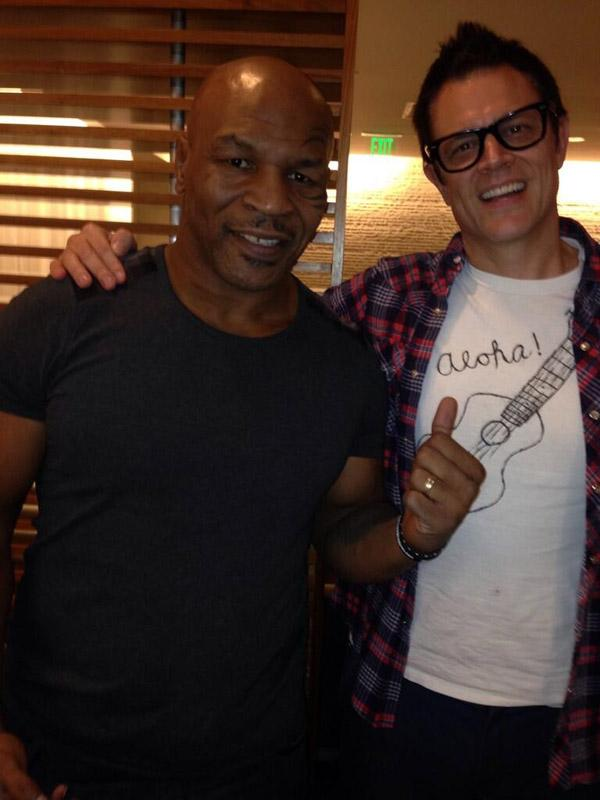 Johnny Knoxville Mike Tyson